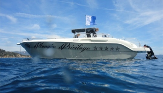 Diving Trips For 4 Divers In Bormes-les-mimosas With State Certified Instructors