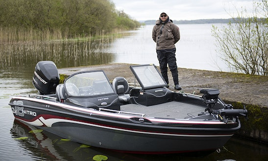 19ft Nitro Zv 18 Center Console Boat Charter In Westmeath, Ireland