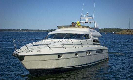 59' Power Mega Yacht Charter In Helsinki, Finland