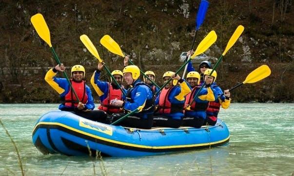 White Water Rafting Trips in Ljubljana