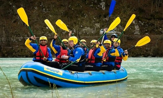 White Water Rafting Trips In Ljubljana