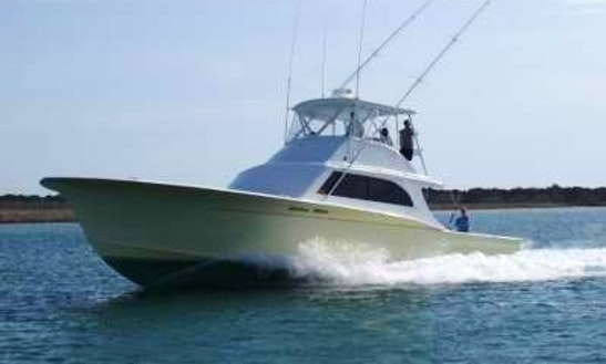 46ft big eye fishing charter in hatteras north carolina