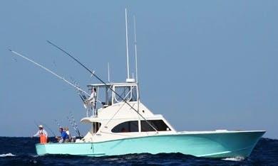 "Hatteras Fishing Charter On 48ft ""Native Son"" Sportfishing Yacht"