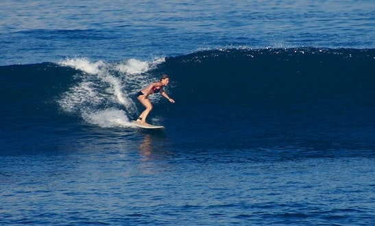 Private Beginner & Intermediate Surf Lessons In Kuta Utara