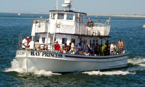 "65ft ""Bay Princess II"" Trawler Boat Charter in Islip, New York"