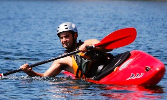 Single Kayak Rental & Lessons In Rancho Cordova, California