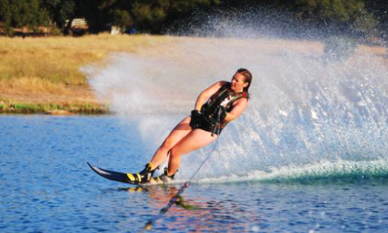 Water Skiing In Rancho Cordova, California