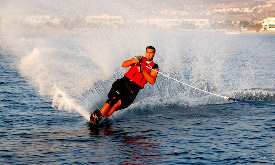 Water Skiing Session In Mouliets-et-villemartin