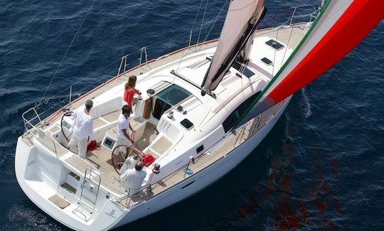 Beneteau Oceanis 43 Cruising In Quartu Sant'elena, Italy