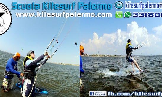 Kiteboarding In Marsala