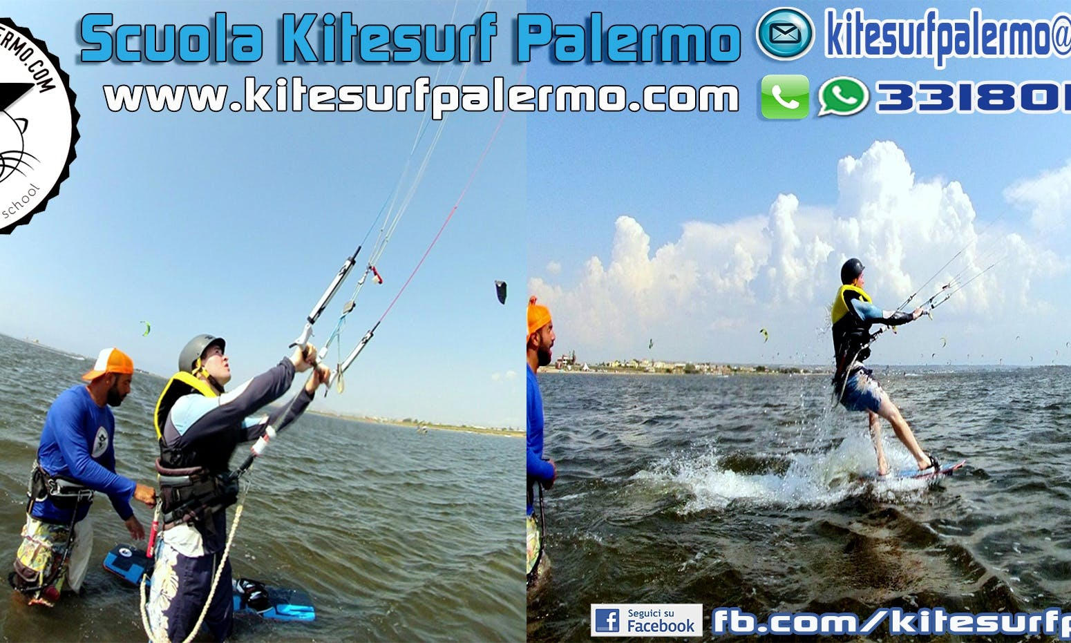 Kiteboarding in Marsala