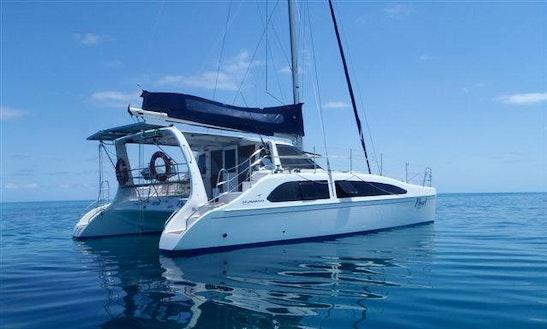 37' Cruising Catamaran Charters In Exmouth, Western Australia