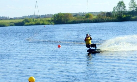 Wakeboarding In Latvia