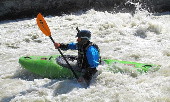 Single Kayak Courses & Hire In Morgex