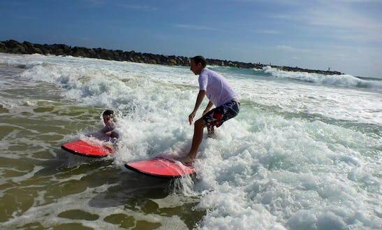Surfing Lessons Queensland Australia
