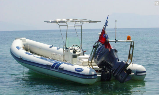 24' Rib Diving Trips In Lefkada, Greece