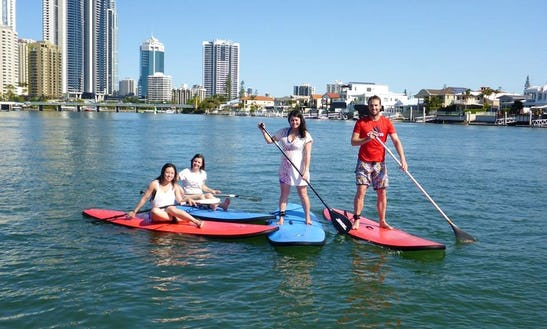 Stand Up Paddle Lessons In Queensland Australia