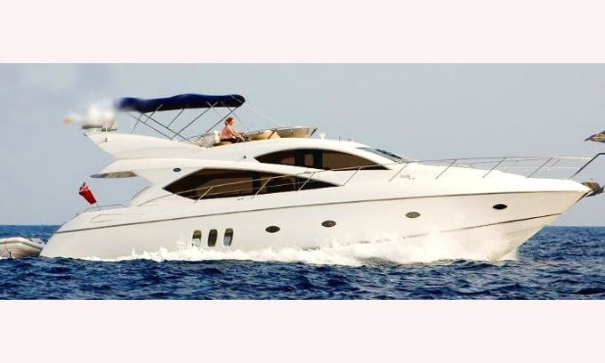 60'  Sunseeker Manhattan Motor Yacht