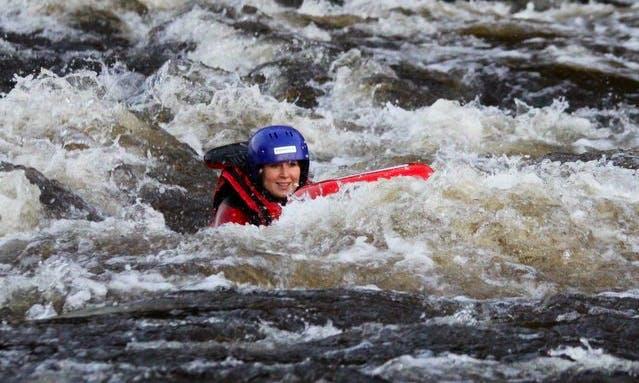 Hydrospeed Riverboarding Trips in Laukaa