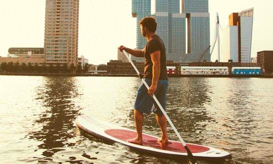 Stand Up Paddleboarding In Berlin