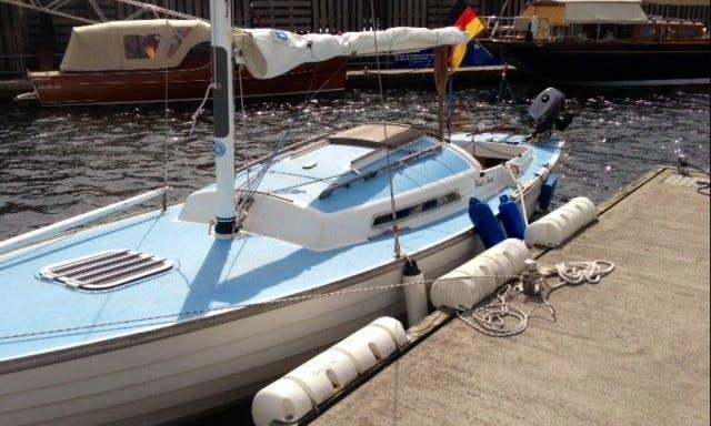 """25' Folkboat """"Black Pearl"""" in Flensburg"""