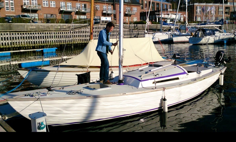 "25' Folkboat ""Purple Pearl"" In Flensburg"