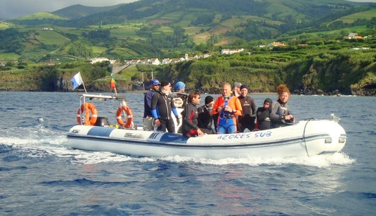 Boat Diving Trips And Diving Lesson In Vila Franca Do Campo, Portugal