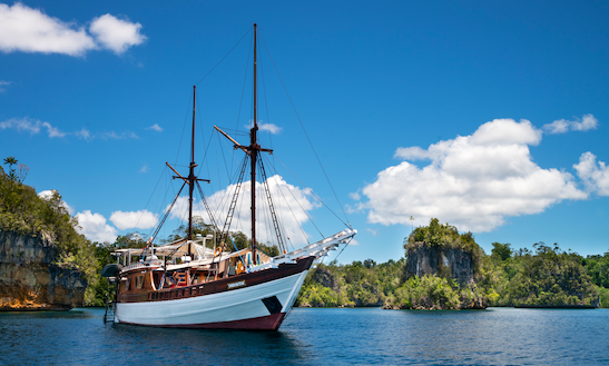 Adventure Phinisi For Charter In Indonesia