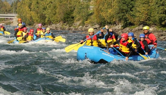 Rafting In Heidal