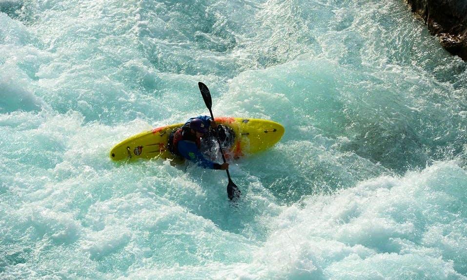 Kayak Trips and School in Kobarid