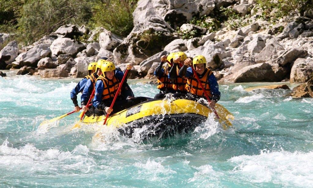 Rafting Trips in Kobarid