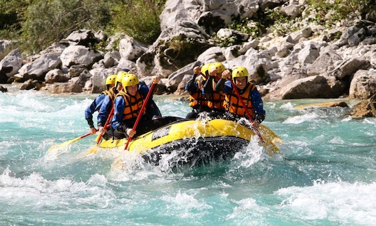 Rafting Trips In Kobarid