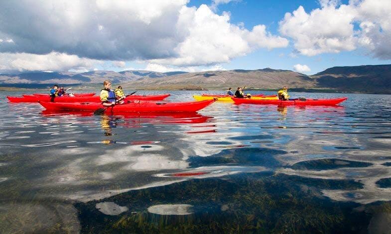 Kayak Trip from Reykjavík