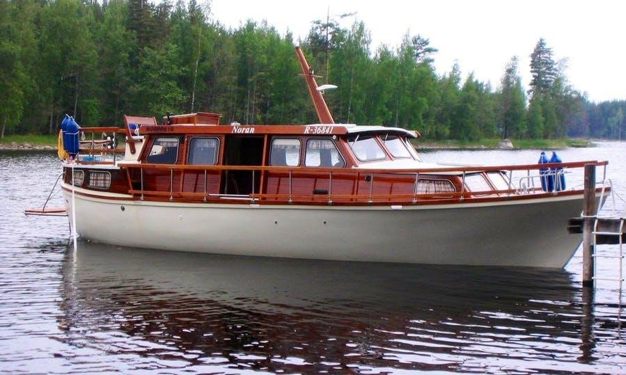 Noran Motor Yacht  Charter in Taipalsaari