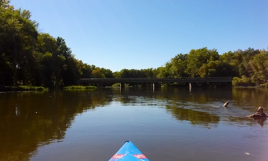 En Gedi Canoe, Kayak And Tube Livery On St. Joseph River, Leonidas, Mi
