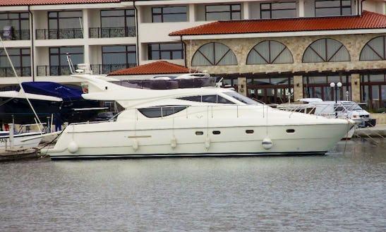 50 Ft Fly Bridge Motor Yacht Charter In Nessebur