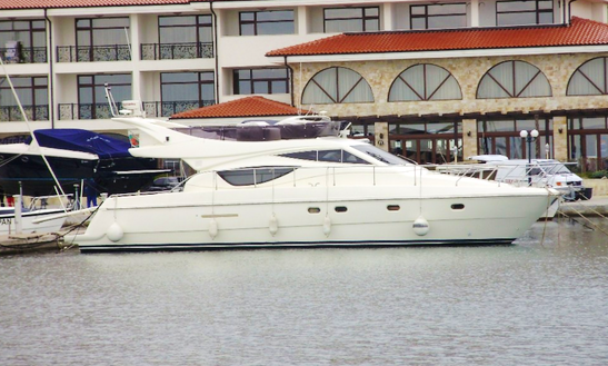 50 Ft Fly Bridge Motor Yacht Charter In Nessebur
