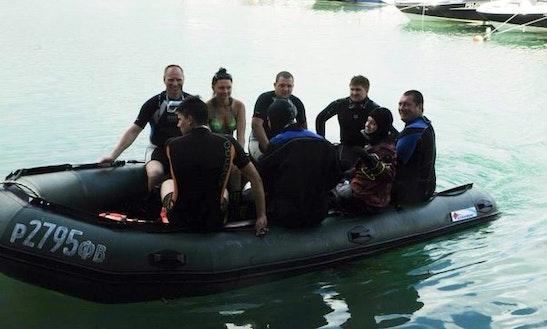 Boat Diving Trips In Gelendzhik.