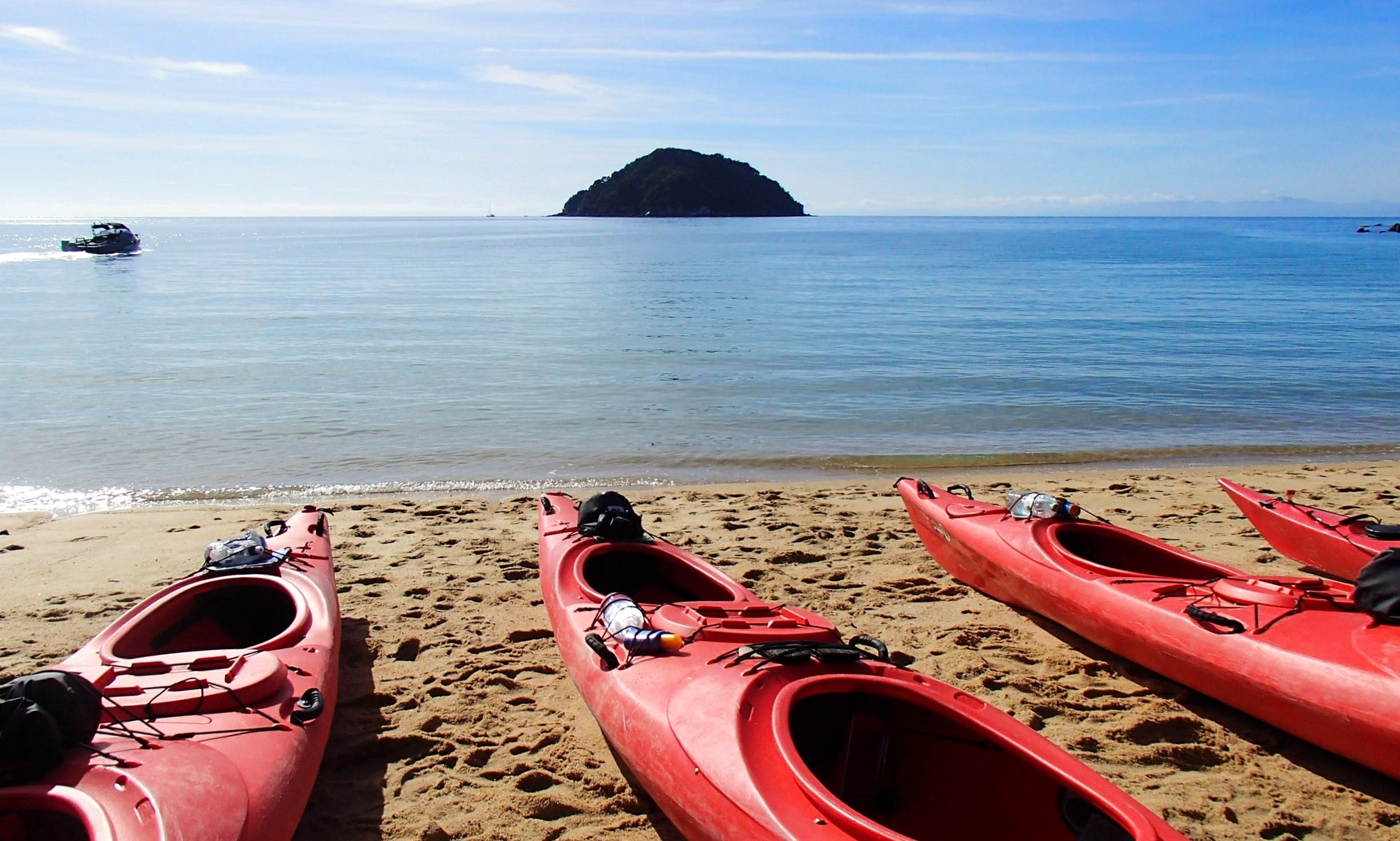 Oar-Some Marine Reserve - full day guided kayak tour (including lunch).