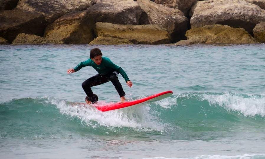 Surfing Lessons in Tel Aviv-Yafo