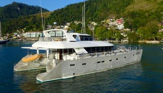 Charter Santtina 70´ Cruising Cat In Angra Dos Reis