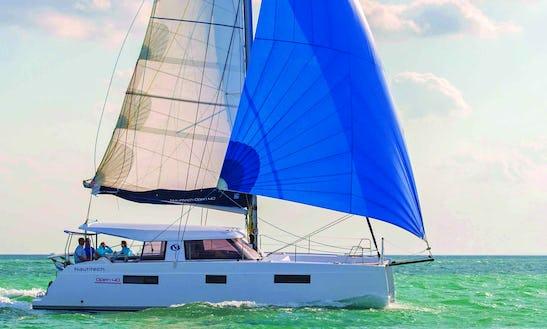 Charter 40' Nautiteck Cruising Catamaran In Palma, Spain