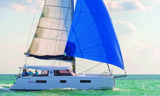 Charter 40' Nautiteck Cruising Catamaran In Palma, Spain