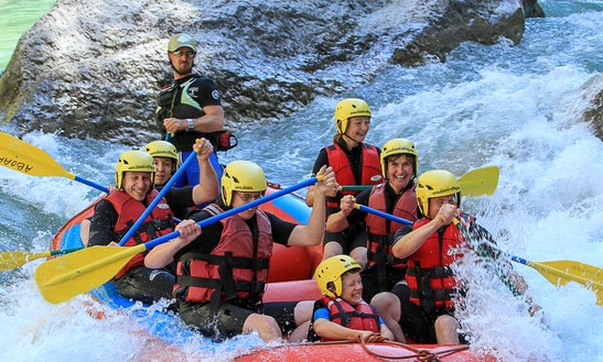 Rafting Course In Castellane
