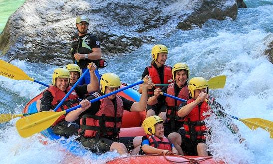 Rafting Course In Castellane