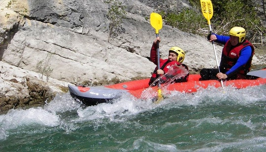 Canoe Raft Course In Castellane