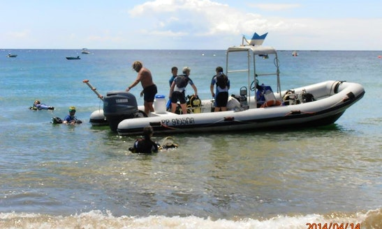Rib Diving Trips In Basse-terre, Guadeloupe