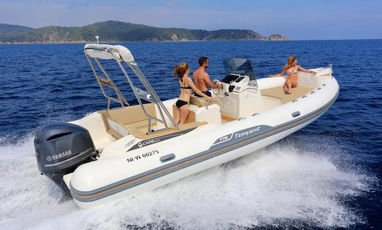 Capelli Tempest 775 Boat Hire In Marseille
