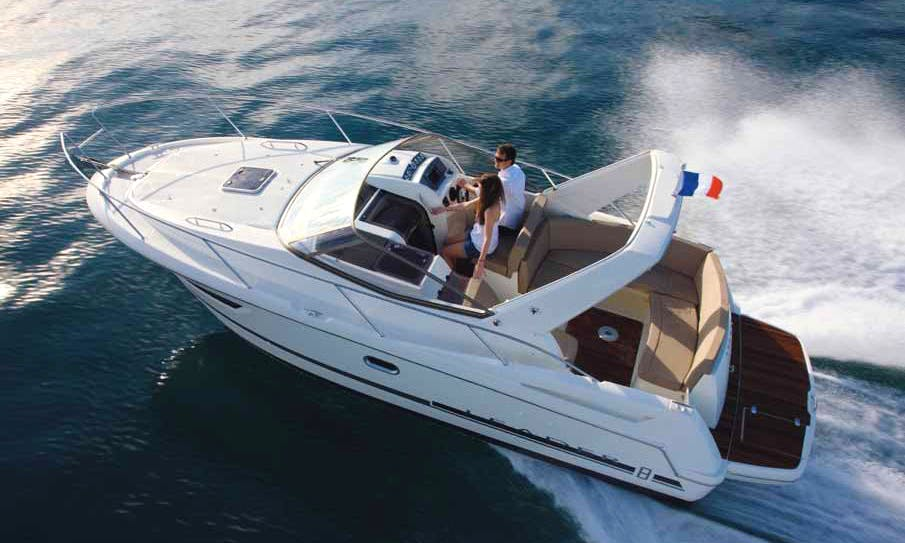 Jeanneau Leader 8 Boat Hire in Marseille
