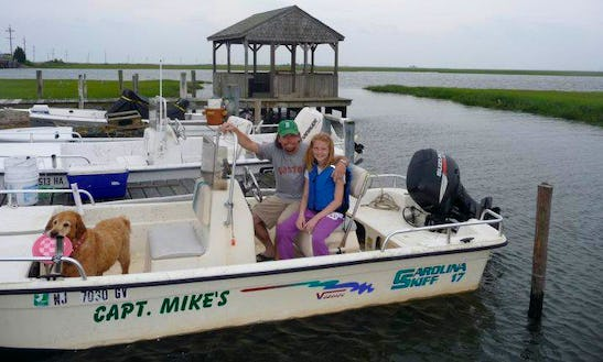 17' Center Console Rental In Little Egg Harbor Township, New Jersey United States